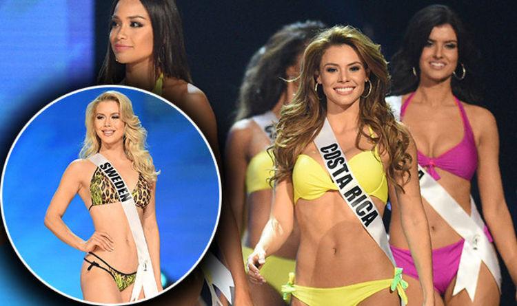 842b3188e4d61 Miss Universe 2017  Contestants FLAUNT their hot bikini bodies in swimwear  round