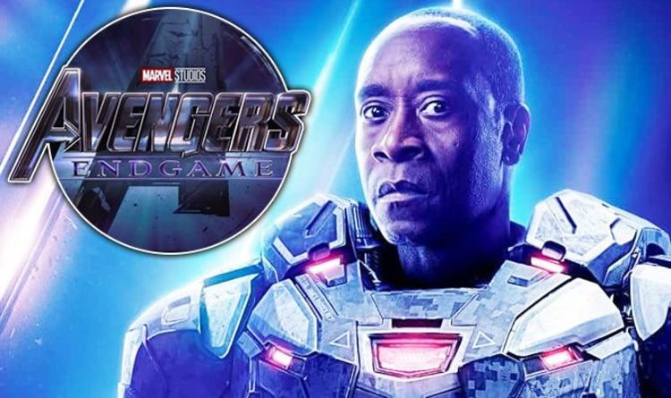 Avengers Endgame First Look At Huge War Machine Spoiler Films