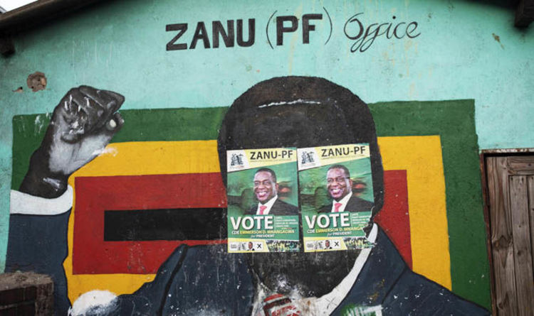 zimbabwe election results 2018 who is winning election will