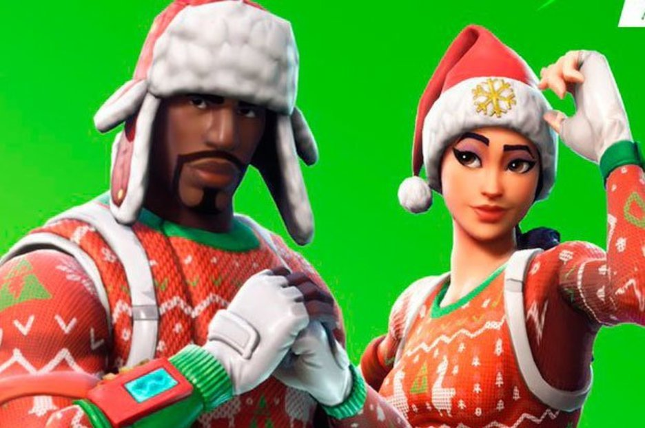 Fortnite Shop TODAY: Nog Ops, Yuletide Ranger Christmas Skins & new