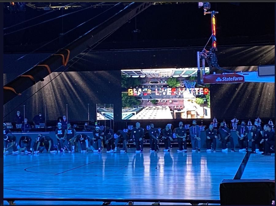 Raptors And Lakers Kneel During National Anthem Talkbasket Net