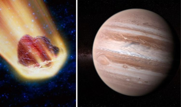 Jupiter news: Meteor smashes into gas giant in stunning