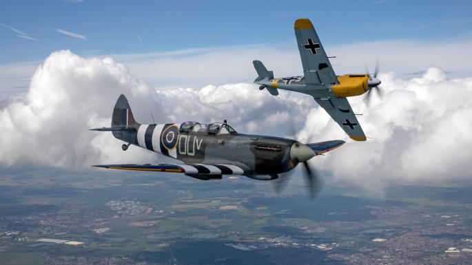 Tally ho! My Spitfire dogfight with Luftwaffe | News | The Times
