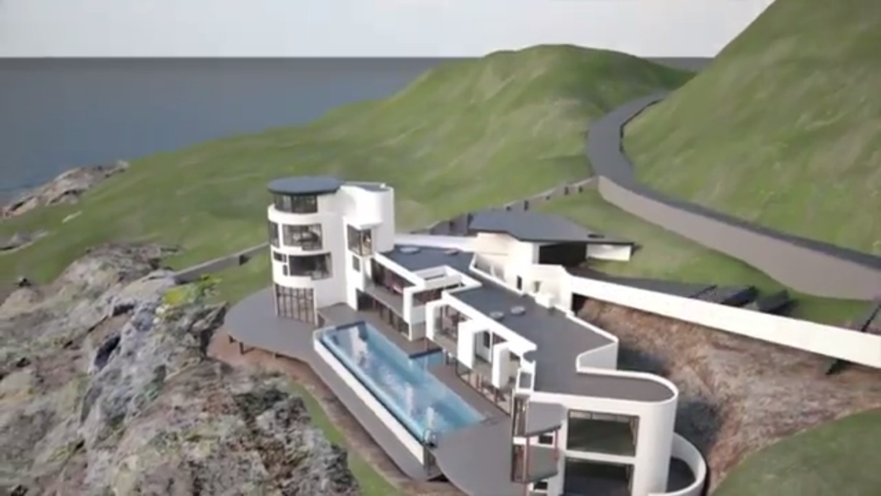 Grand Designs Graphic Shows Plans For Lighthouse In Devon Videos Express Co Uk