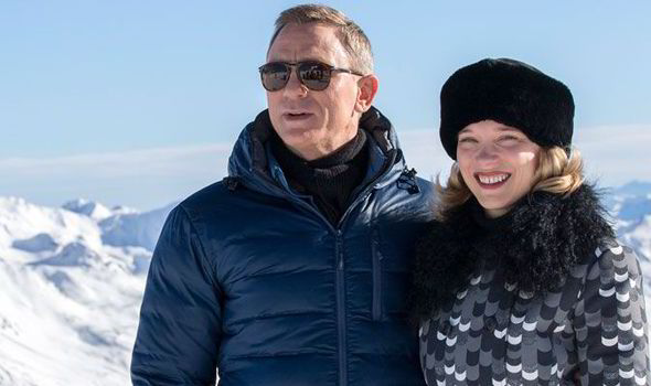 32c777a9834363 Daniel Craig and Lea Seydoux attended a Spectre photocall together in  Austria on Wednesday