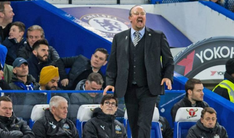 2cbfd1dcbe9 Newcastle boss Benitez told by pundit to use his OWN MONEY to complete  transfer deals
