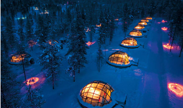 Nice The Glass Igloos Kakslauttanen. The Resortu0027s Glass Igloou0027s Provide The  Perfect Viewing Experience For The Northern Lights Amazing Ideas