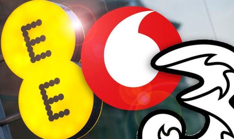 EE vs Vodafone vs Three vs O2 - One UK network just scored