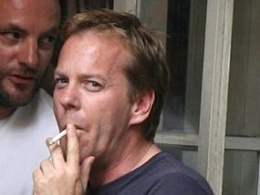 sutherland has been jailed for 48 days - Kiefer Sutherland Christmas Tree