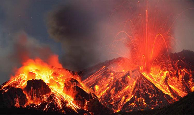 Hasil gambar untuk volcanic eruption