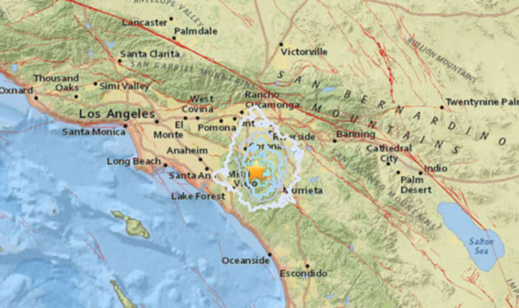 California Earthquake Today Latest Update Along San Andreas Fault