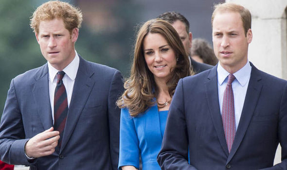 Harry Kate And William