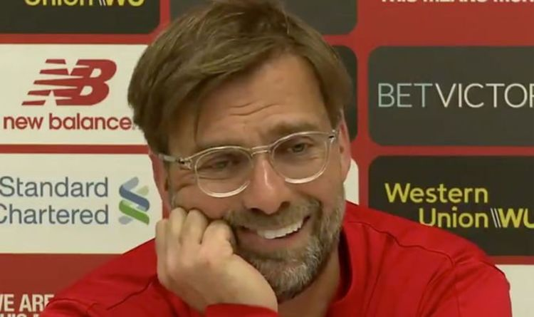 9537d99a952 Jurgen Klopp met with deafening SILENCE after making Brexit joke –  Thought  it was good!
