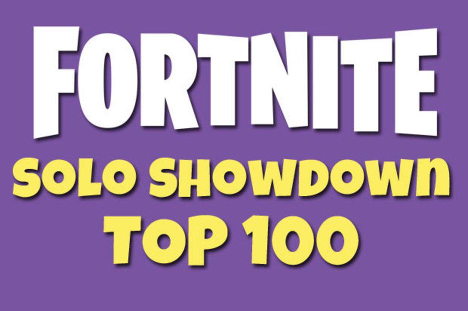 Fortnite Showdown Leaderboard Latest Solo Ltm Standings Results