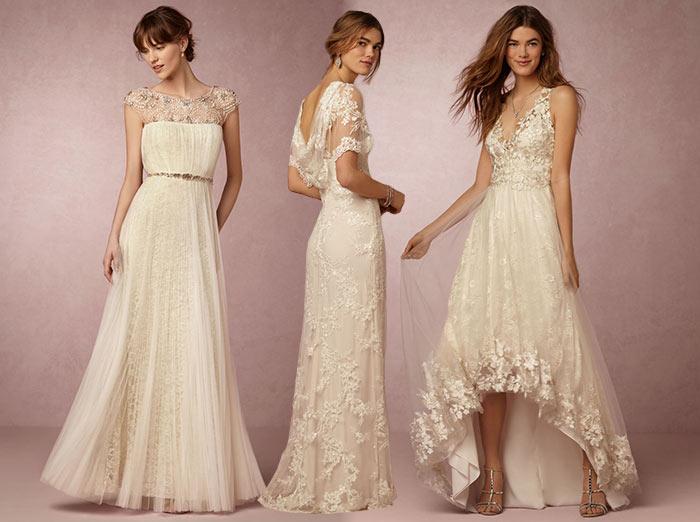 Marchesa Bhldn Affordable Bridal Dresses Fashionisers C