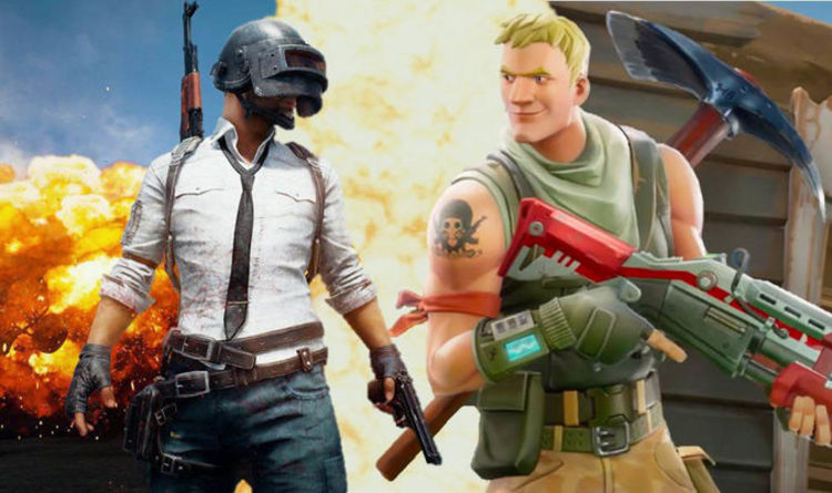 Image result for Fortnite vs PUBG