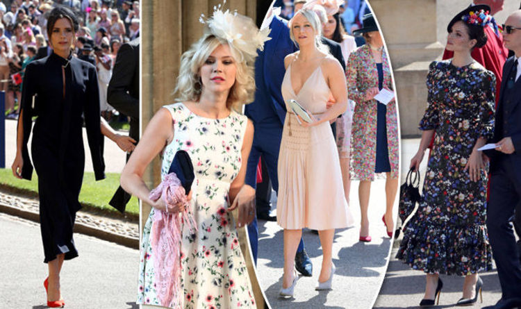 b75bd9f568a78 Royal Wedding worst dressed  Did guests break the dress code at Meghan and  Harry s day