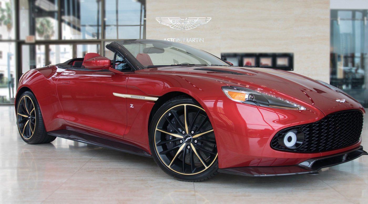Aston Martin Vanquish Zagato Volante Up For Sale In Florida