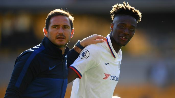 Image result for lampard tammy abraham