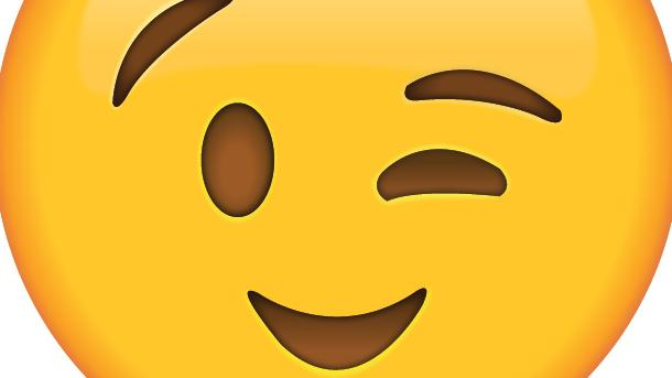 A smiley face could be mistaken for a frown, causing cross-cultural misunderstanding