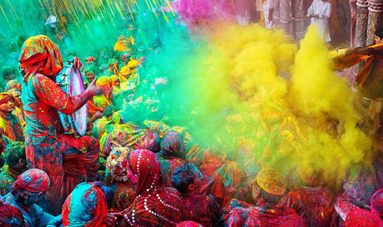 8b57c1b0f Holi 2018  10 facts about Hindu festival of colour - Why do you throw coloured  powder