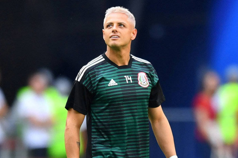 ec7fd4ce23b Javier Hernandez hair  Twitter HAMMERS Mexico star for change of style at World  Cup
