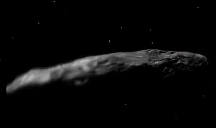 aeaa972d01b1af Oumuamua news: Astronomers claim UFO is ALIEN PROBE scientists can learn  from | Weird | News | Express.co.uk