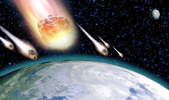 Meteorite bombardment and dating of planetary surfaces trade