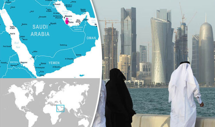 Qatar map: Where is Qatar? Facts on Doha and the Gulf nation ...