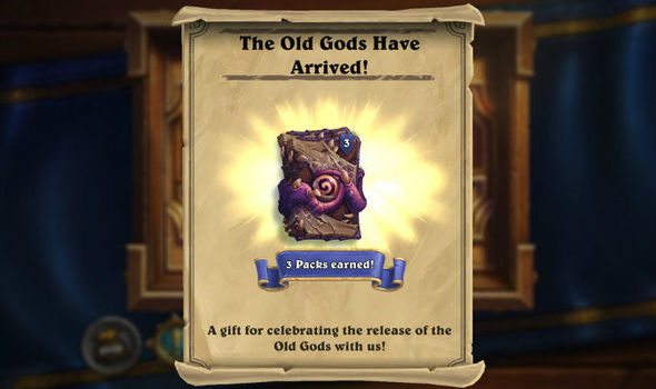 Hearthstone Whispers Of The Old Gods Live Blizzard Launch Dlc