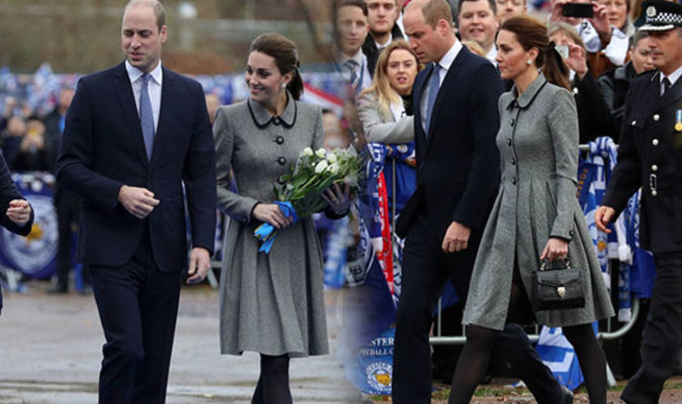 Kate Middleton Wears Formal Grey Coat To Pay Respects At Leicester