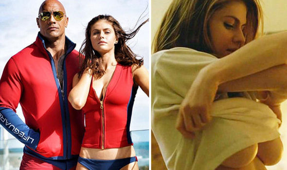 Baywatch babe Alexandra Daddario's saucy past | Films
