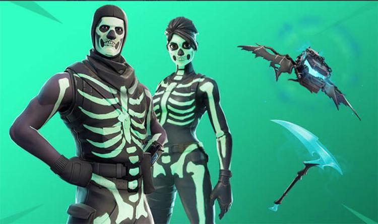 Fortnite Skull Trooper Set Revealed Skull Squad Gear Challenges