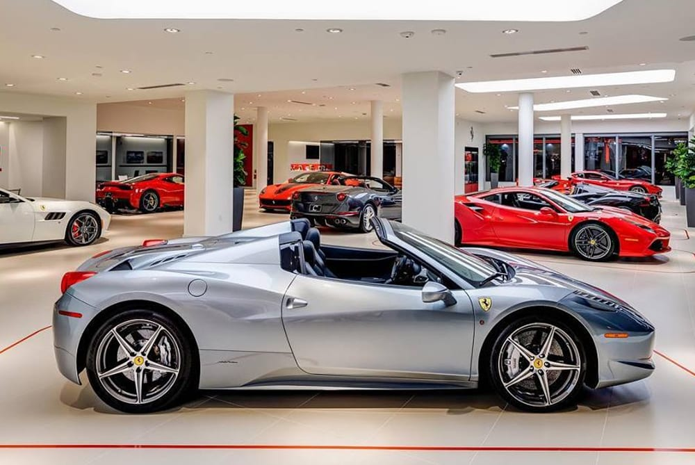 Ferrari Of Miami Opens On Biscayne Blvd As The Only Exclusive Ferrari Dealer In Miami