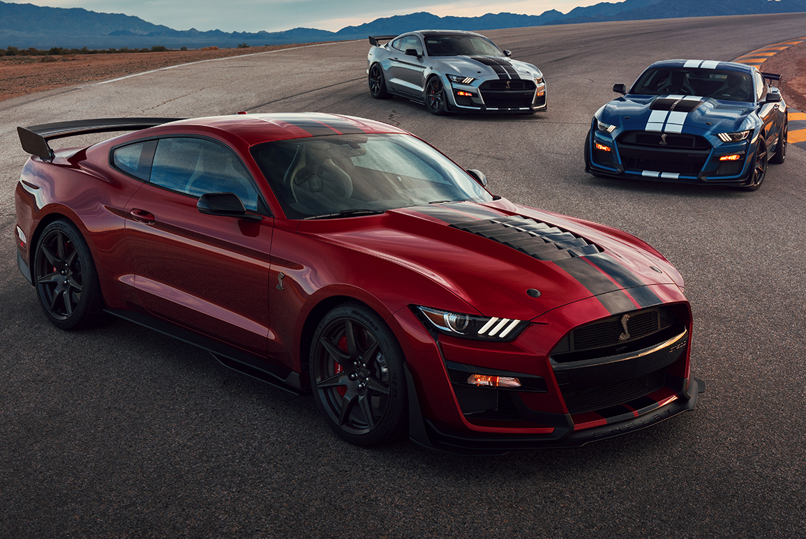 2020 Ford Mustang Shelby Gt500 Model