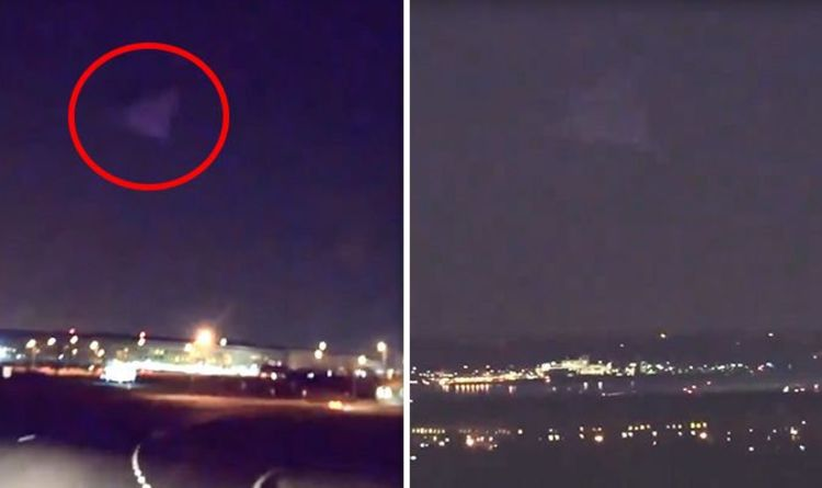 Huge 'pyramid' spotted looming over Pentagon base - sparks fears of
