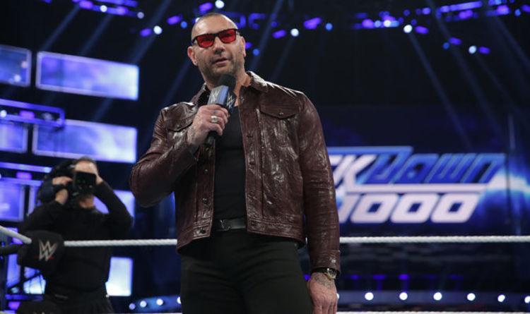 WWE Marvel star Batista's WrestleMania rival may change