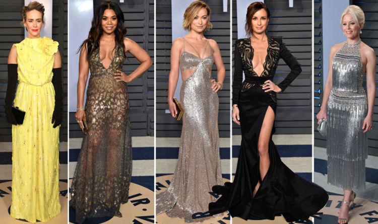 Oscars 2018: Vanity Fair party worst dressed includes Sarah Paulson ...