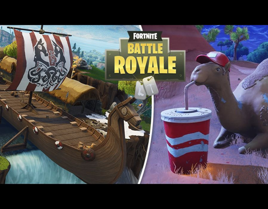 Fortnite Week 10 Challenges Where Is The Camel In Fortnite