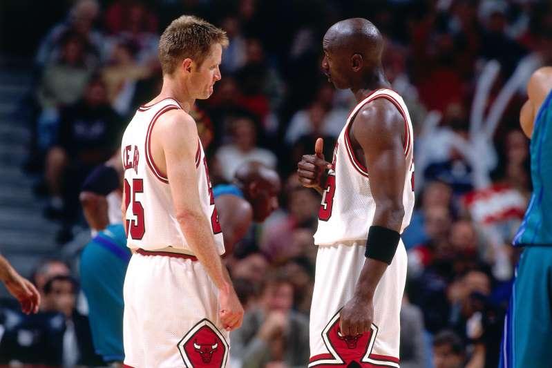 Monica eternamente recepción  Michael Jordan and Steve Kerr recollect the famous practice fight |  TalkBasket.net
