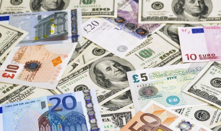Pound Exchange Rate Gbp Soars To Three Week High Against Us Dollar Higher Euro
