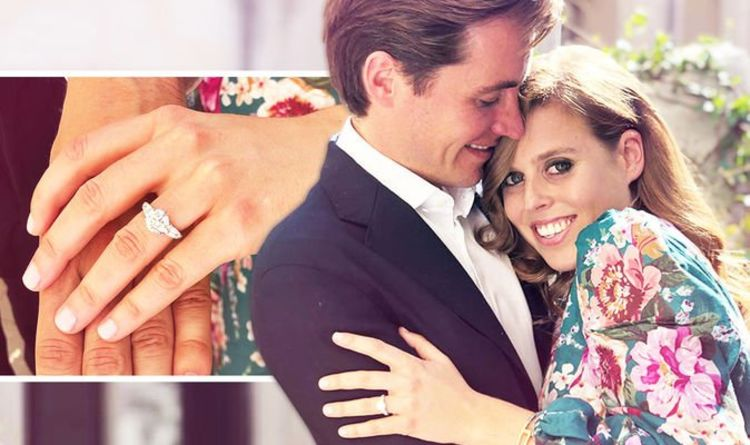 princess beatrice engagement ring
