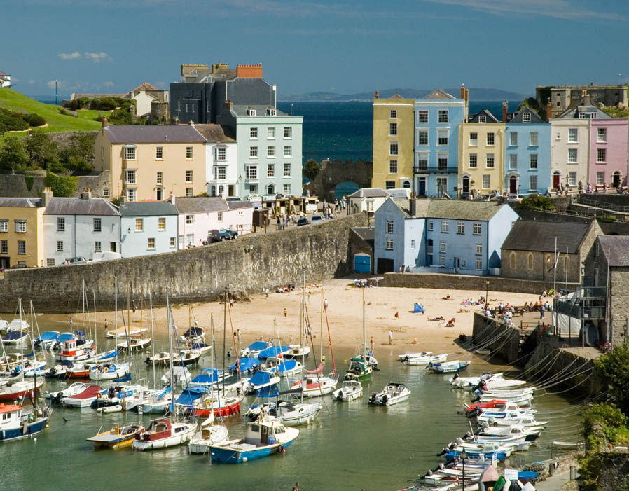 Small seaside towns in uk