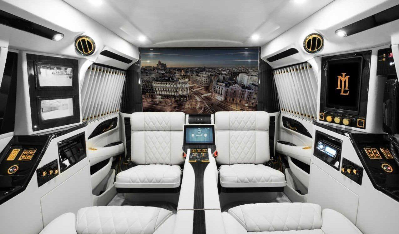 For Lexani Motorcars 2016 Cadillac Escalade Sky Captain Piano Edition
