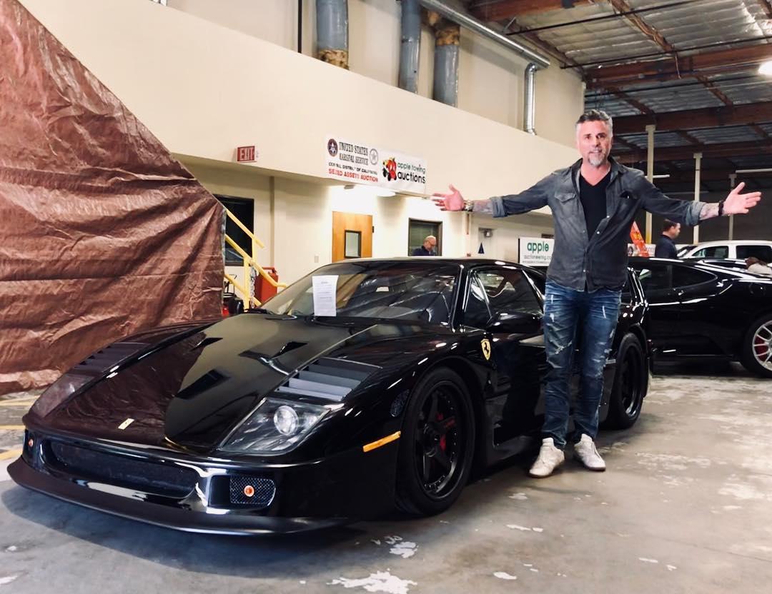 Grease Monkey Garage >> Gas Monkey Garage Ferrari F40 Sells Again For More