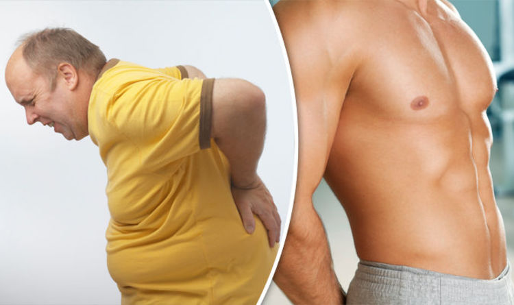 5c606b40d39 Weight loss  How to lose belly fat if you have a bad back with THESE three  moves