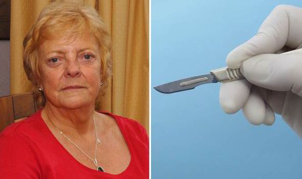 Patricia Jackson Pensioner S Belly Button Erupts On Flight After
