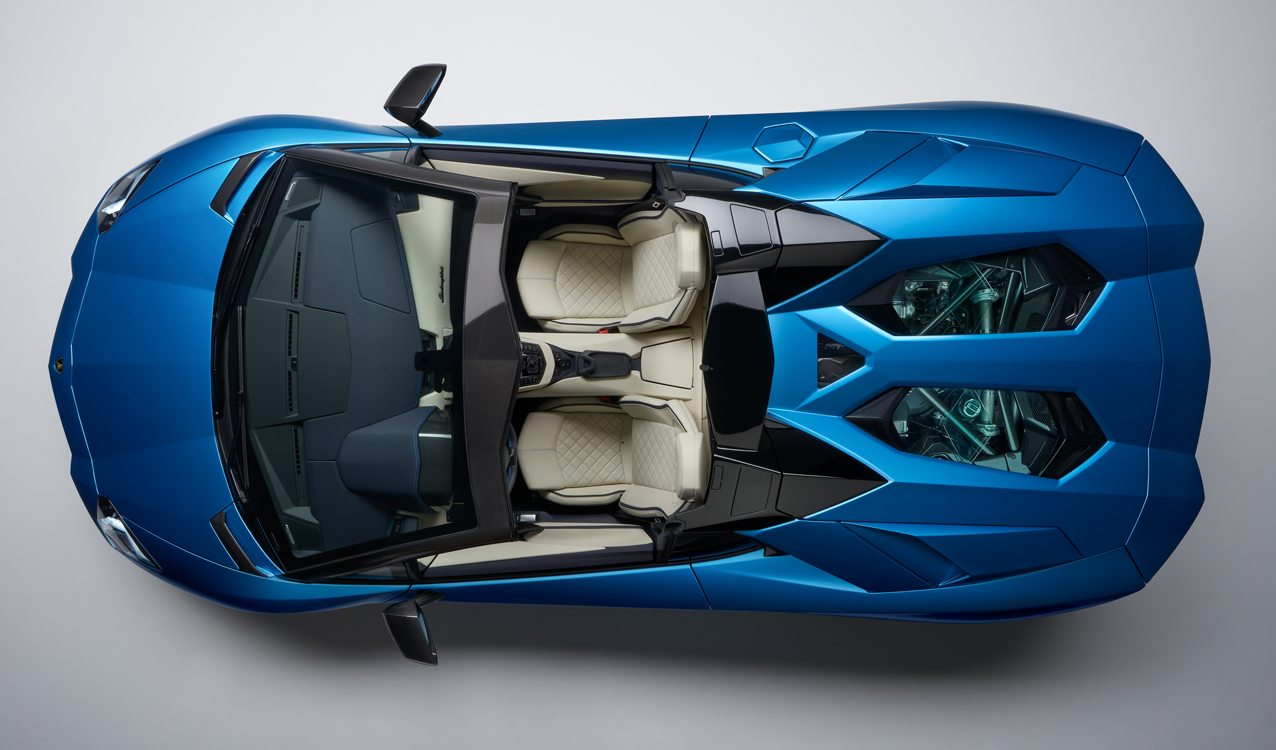 2018 Lamborghini Aventador S Roadster Specs Price Photos Review