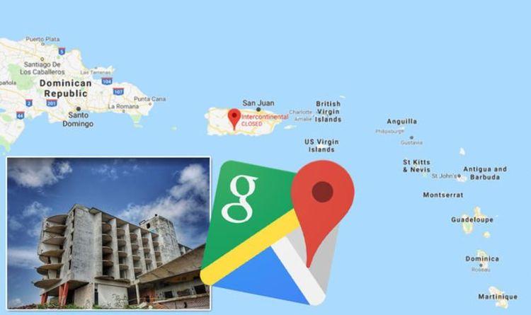 Google Maps Street View Costa Rica: Creepy abandoned hotel ruins ...