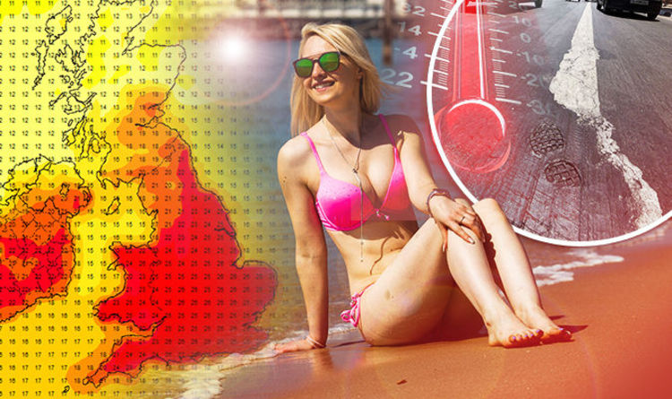 0acfc1f5ca HEATWAVE WARNING  UK temps to hit 35C as Met Office warns  stay indoors   between 11am-3pm
